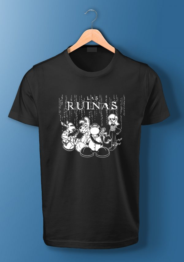 Camisetas Las Ruinas #00 Matrix