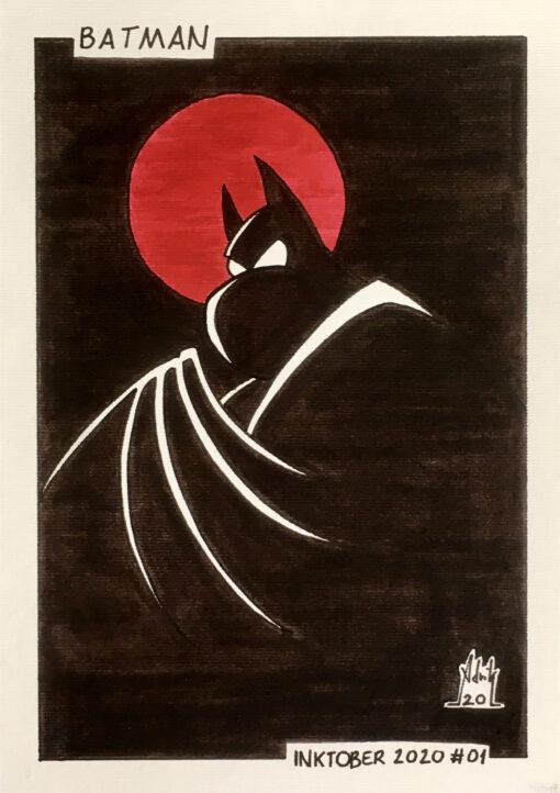 Inktober 2020 Batman