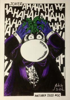 Inktober 2020 Joker