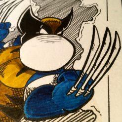 Inktober 2020 Wolverine