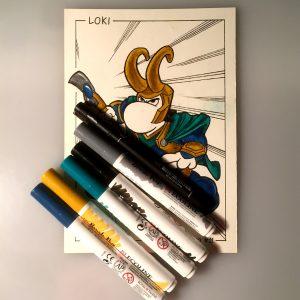 Inktober 2020 Loki