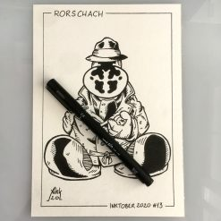 Inktober 2020 Rorschach Watchmen