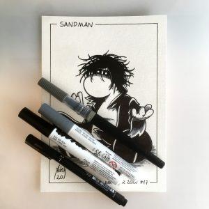 Inktober 2020 Sandman
