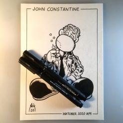 Inktober 2020 John Constantine