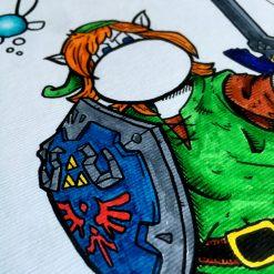 Inktober 2020 Link Zelda