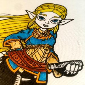 Inktober 2020 Zelda