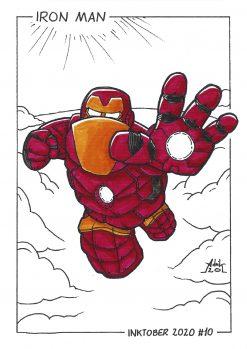 Print Inktober 2020 Iron Man