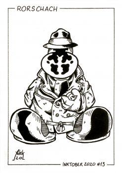Print Inktober 2020 Rorschach