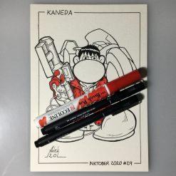 Inktober 2020 Kaneda Akira