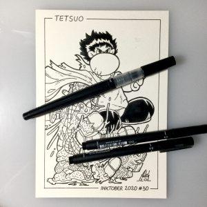 Inktober 2020 Tetsuo Akira